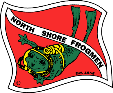 North Shore Frogmen Logo
